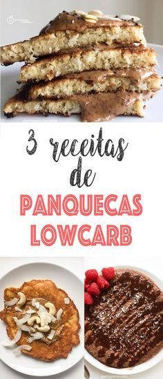 Panquecas Lowcarb do Emagrecer Certo