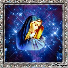BLESSED MOTHER Mother Pictures, Jesus Pictures, Beautiful Love, Beautiful Pictures, Mother Gif, Eagle Images, House Of Gold, Jesus Christ Images, Holy Rosary