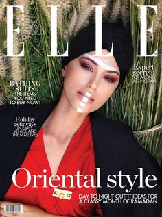 Veronika Istomina por Francesco Scotti para ELLE Arab World junio 2016