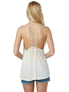 It's all about the back detailing on the Sparked Flame Tank #FestivalBound