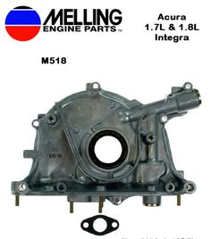 New Melling Oil Pump for Acura 1.7L & 1.8L Engines