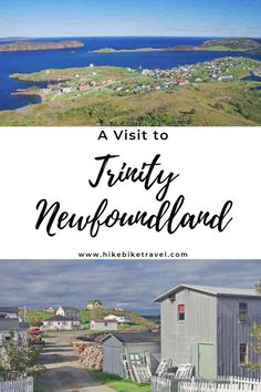 Don't miss a visit to Trinity, Newfoundland, about 3 hr from St. John's Hike the Skerwink Trail, go whale watching, dine well and catch some theatre Visit Canada, Newfoundland And Labrador, Boat Tours, Whale Watching, Okinawa Japan, Chicago Restaurants, Canada Travel, Solo Travel, Small Towns
