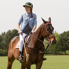 Carolina Beresford rocking her polo look during our #BloggersPoloDay at La Aguada (Argentina)