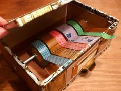 Make a Tape Dispenser Out of a Cigar Box — Just Something I Made