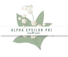 Looking for custom Alpha Epsilon Phi shirts with endless design options? Adam Block makes it easy! • www.adamblockdesi...