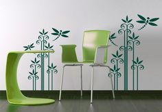 beautiful wall decals | Wall Decal - Reed Abstract #walldecals #walldecors