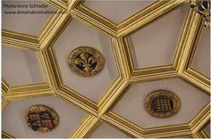 Roof detail  Hampton Court Palace England