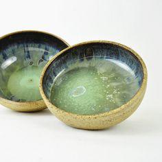 Grass and Sky handmade Ceramic Nesting bowls by glazedOver Pottery 1 | Flickr - Photo Sharing!
