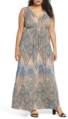 e9b58632f4b Plus Size Women s Tart Grecia Sleeveless Jersey Maxi Dress Plus Size Maxi  Dresses