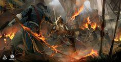 ArtStation - Assassin's Creed IV: Black Flag - North Carolina Concept, TEO YONG JIN