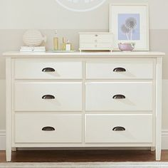 Chatham Wide Dresser #pbteen.  $770.  Maybe paint the handles
