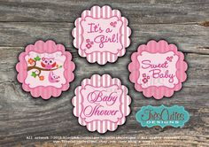 INSTANT PDF DOWNLOAD  Owl Baby Shower Girl  by TresCutiesDesigns, $9.00