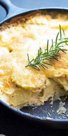 Parmesan Rosemary Au Gratin Potatoes | Make sure to follow cause we post alot of food recipes and DIY  we post Food and drinks  gifts animals and pets and sometimes art and of course Diy and crafts films  music  garden  hair and beauty and make up  health and fitness and yes we do post women's fashion sometimes  and even wedding ideas  travel and sport  science and nature  products and photography  outdoors and indoors  men's fashion too  postersand illustration  funny and humor and even…