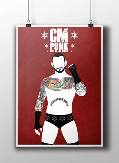CM Punk  - Best in the World Poster Print