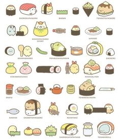 Sumikko Gurashi sushi
