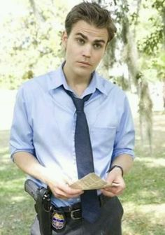 New pic about the new movie.... Paul wesley:-*