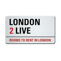 If you are looking for a room in London, contact us or visit our website london2live.com