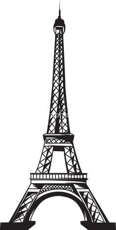 La tour eiffel eiffel tower clip art at vector clip image 1 2 Eiffel Tower Clip Art, Eiffel Tower Silhouette, Eiffel Tower Drawing, Evil Tower, Tour Effel, Paris Clipart, Miraculous Ladybug Party, Springtime In Paris, Paris Wallpaper