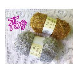 Scrubby Glitter Yarn Eco-Friendly Multi Purpose Dishwash Korean Eyelash Polyester Gold Silver 90g Scrapbook X-Mas Trimming by secondream on Etsy