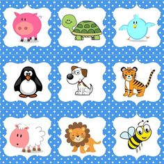 Creation Bible Crafts, Name Tag Templates, Kindergarten, Puppy Classes, Animal Paintings, Teaching Kids, Cute Animals, Snoopy, Clip Art