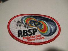 NASA RADIATION BELT STORM PROBES LAUNCH RBSP PATCH
