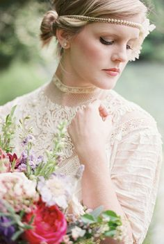 Nicole Colwell Photography - Virginia Photography - Vintage, boho chic bride