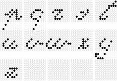 Alfabeto minuscolo 2