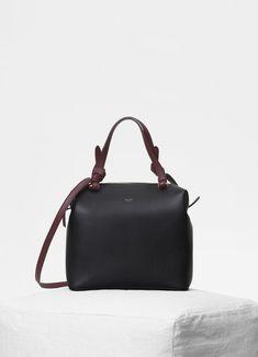 Celine Black Smooth Calfskin Small Soft Cube Bag Cubes e3a94bfa8d839
