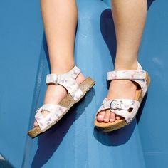 Sandale Haflinger piele - Bio Fritzi Butterfly - HipHip.ro Summer Kids, Birkenstock, Ski, Kids Fashion, Butterfly, Shoes, Sandals, Zapatos, Shoes Outlet