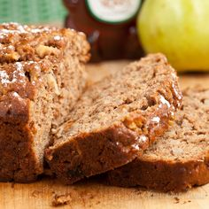 Honey Pear Bread, sweetened with applesauce and honey. YUMMY and good for you.