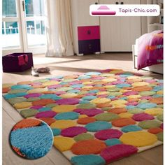 1000 images about tapis on pinterest square rugs madagascar and atelier - Tapis patchwork multicolore ...