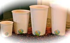 Global Eco Products / Eco Ware – From nature to your table and back to nature Coffee Shop, Coffee Cups, Compost, Plant Based, Planter Pots, Hot, Nature, Plants, How To Make