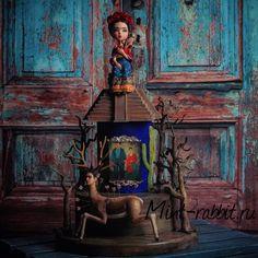 Frida Kahlo Cake | Mint Rabbit #mintrabbit #мятныйкролик #кроликионисамыесчастливые  #fridakahlo #фридакало