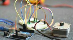 Run a stepper motor with arduino