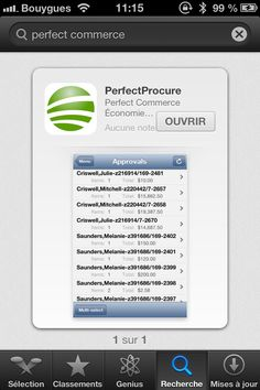 Perfect Commerce : App Mobile