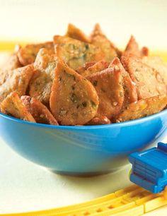 Crunchy Drops ( Recipe for Toddlers) recipe | by Tarla Dalal | Tarladalal.com | #36857