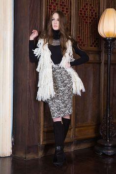 Alice + Olivia Pre-Fall 2015 Fashion Show Collection
