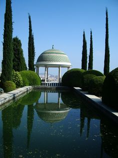 """La Concepción"", the Botanical Gardens in Málaga, Andalucía, Spain. Great views!"