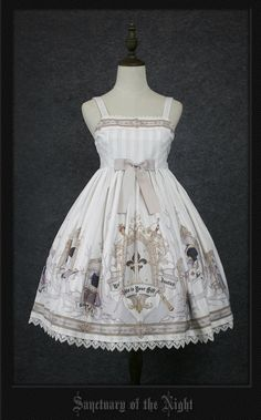 Your Gift -Sanctuary of the Night- Lolita Jumper Dress