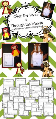 Fairy Tale Fun! Craftivities for Little Red Riding Hood! $