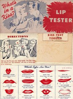 Lip tester