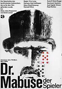 Dr. Mabuse, der Spieler (1922) Fritz Lang