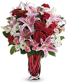 Teleflora's Swirling Beauty Bouquet