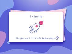 Dribbble Invite January 2018 by Madalina Taina