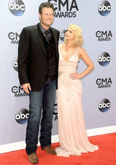 See the best dressed couples including Blake Shelton and Miranda Lambert at 2014 CMA'S
