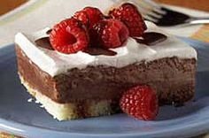 Low-Fat Chocolate Berry Dessert