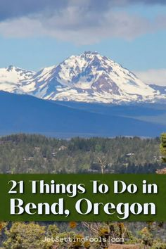 Soaring mountains, rushing rivers, a quaint downtown and a multitude of local craft breweries make Bend, Oregon a marvelous destination. The natural playground is highlighted by an interesting history – and visitors are spoiled for choice of exciting and fun things to do in Bend, Oregon.