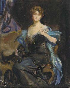 Lady Duff Gordon-LUCILE   Sketch for a Portrait by Philip de Laszlo