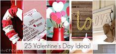 25 valentine's Day Ideas - Tatertots and Jello Cute Valentine Ideas, All Valentine Day, Homemade Valentines, Valentine Treats, Valentine Day Crafts, Holiday Crafts, Holiday Fun, Valentine Cupcakes, Heart Cupcakes