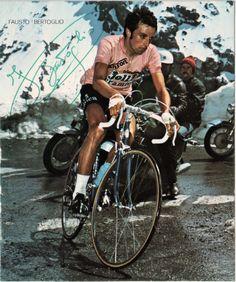 Giro d'Italia 1975. 21^Tappa. 07-06-1975, 21^Tappa. Alleghe - Passo dello Stelvio. Fausto Bertoglio (1949)